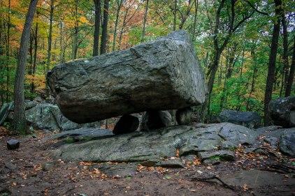 The Tripod Rock. New Jersey 2009.